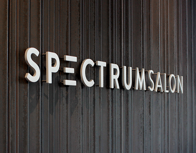 Spectrum Salon Branding