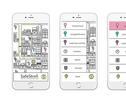 SafeStroll App by Lauren Bloom