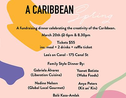 Flyer Design - A Caribbean Spring