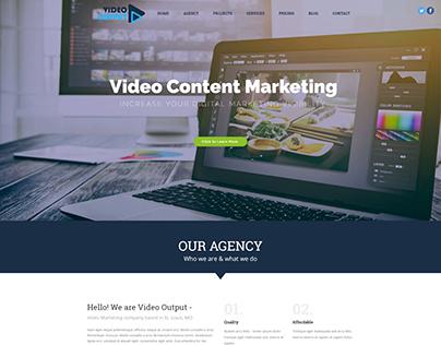 Video Content Production Website