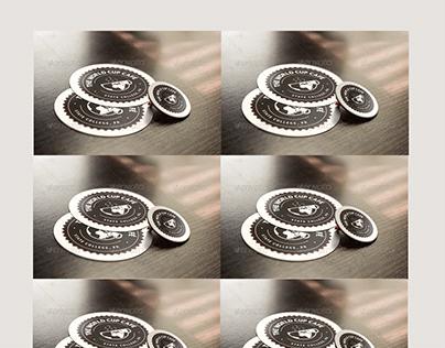 Pin and Sticker Mockup