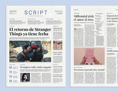 Script — Periódico