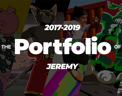 The portfolio of Jeremy in 2017-2019