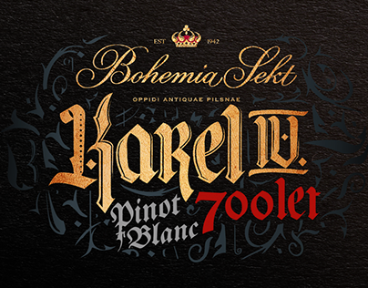 Bohemia Sekt Karel IV. 700 let