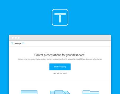tentape -Website
