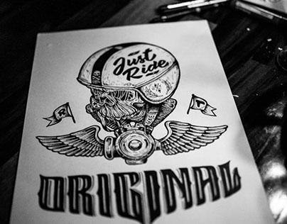 Ilustrando en R/T Garage Bar