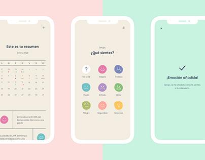 Emocionario - Concept App