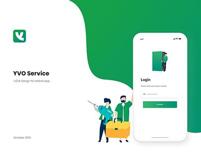 YVO Service App - UI/UX