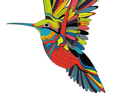 Heart & humminbird