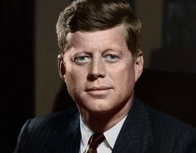 JFK in Color