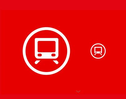 Transdev Interface icons