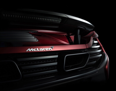 McLaren 650 S car fine art photography (FDL technique)