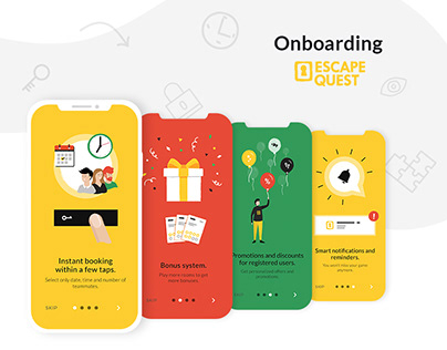 Onboarding Animation :: Mobile App