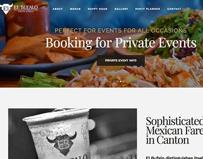 El Bufalo Website