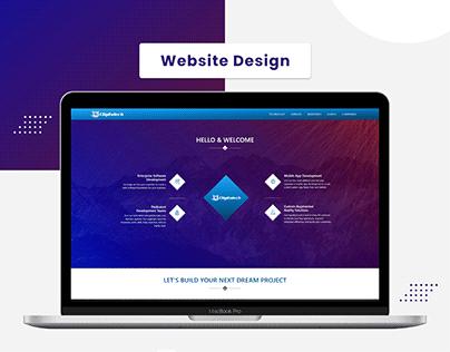 Information Technology Website Design 1