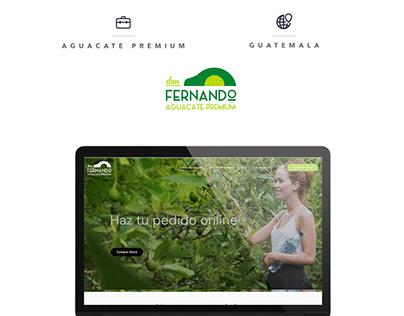 Don Fernando - Web Design