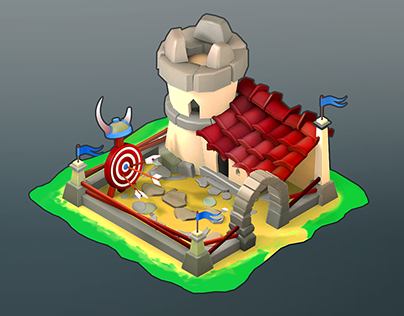 Low poly_Archer house