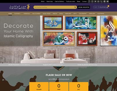 Hur Collection WordPress WooCommerce Website