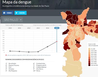 Mapa da Dengue