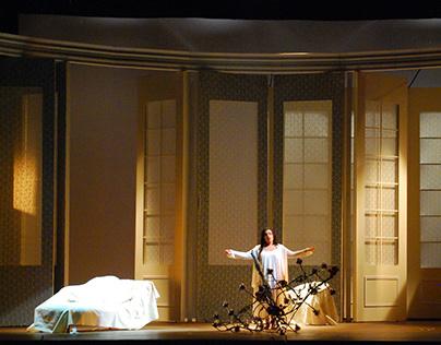 La Traviata, 2013 CORCUDEC, Escenografía e Iluminacion