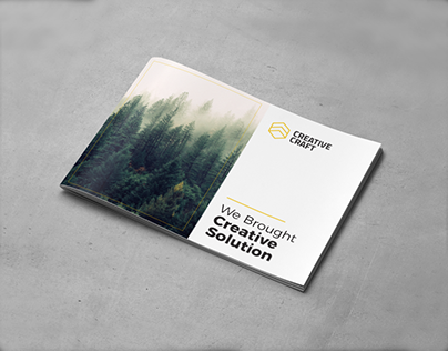 Creative Brochure Template A5 Vol. 04