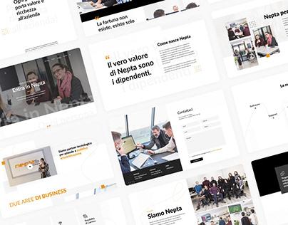Nepta: Web Agency Website Design