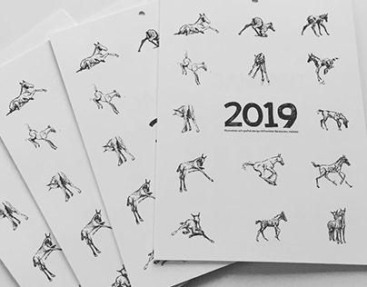 Horse Calendar 2019