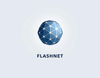 Flashnet - visual brand identity