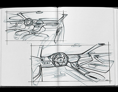 Sketchbook/Automotive design