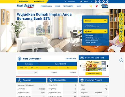 Bank BTN Website