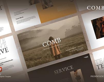 Comb Presentation Template