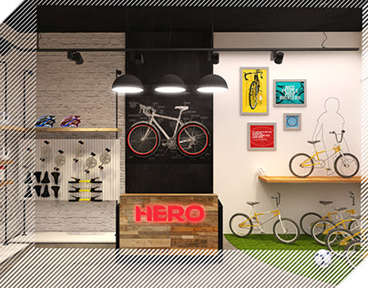 Hero Cycles - Store Identity