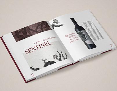 Mount Peak Winery, Catalog Design
