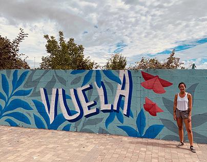 VUELA Mural / España, La Bañeza