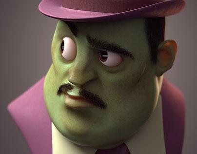 Green Bowler