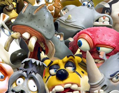 Animal Characters / Plasticine