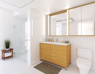VIA 57 West Bathroom