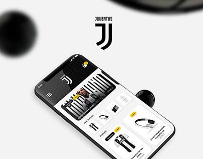 Juventus | Mobile Shop Concept