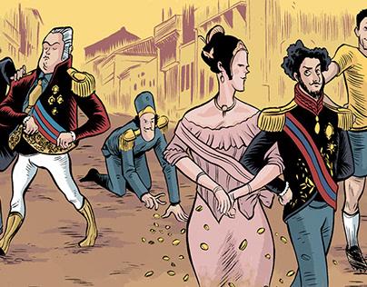 Editorial Illustration - Mundo Estranho Magazine