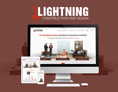 Lightning Construction and Design / Página web