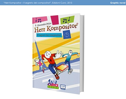 Colori per graphic novel Herr Kompositor (2015)