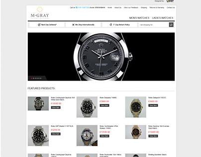 M Gray Luxury Watches