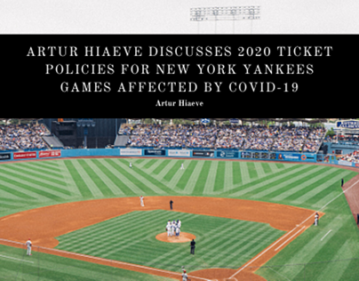 Artur Hiaeve Discusses 2020 Ticket Policies for New