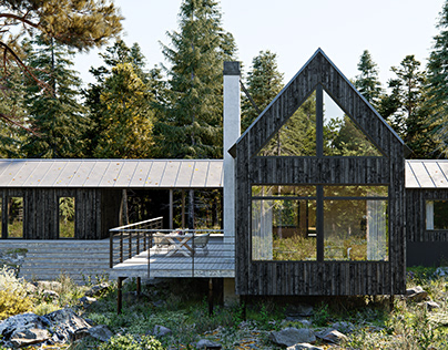 Summer House in Stockholm Archipelago, Sweden