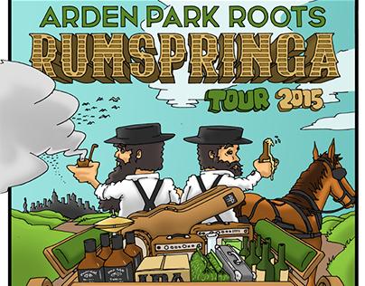APR Rumspringa Tour Poster