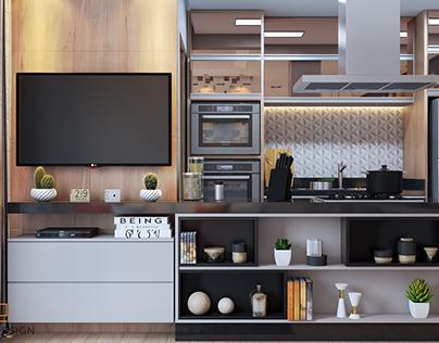 Apto Piscine Home | By A2D Arq2Design