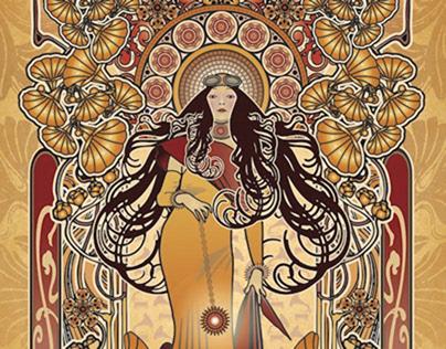 La Victrola Illustrations, Designs, and Branding