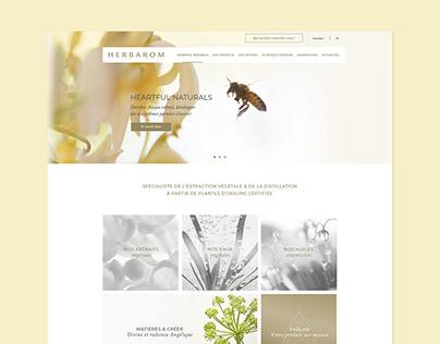 Herbarom - Site web