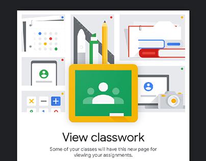 Google Classroom Onboarding