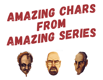 Amazing Characters from Amazing Series